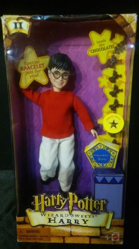 Harry Potter Wizard Sweets Doll Mattel 2001 New in Box, Hard to Find!