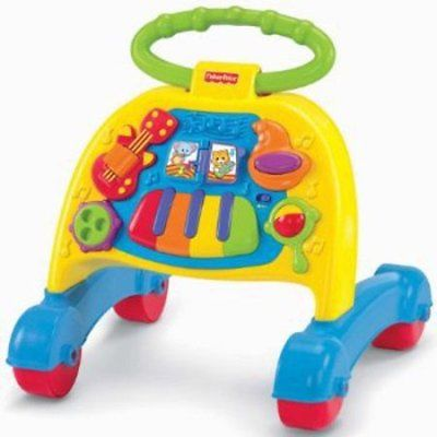 Fisher-Price Brilliant Basics Musical Activity Walker W