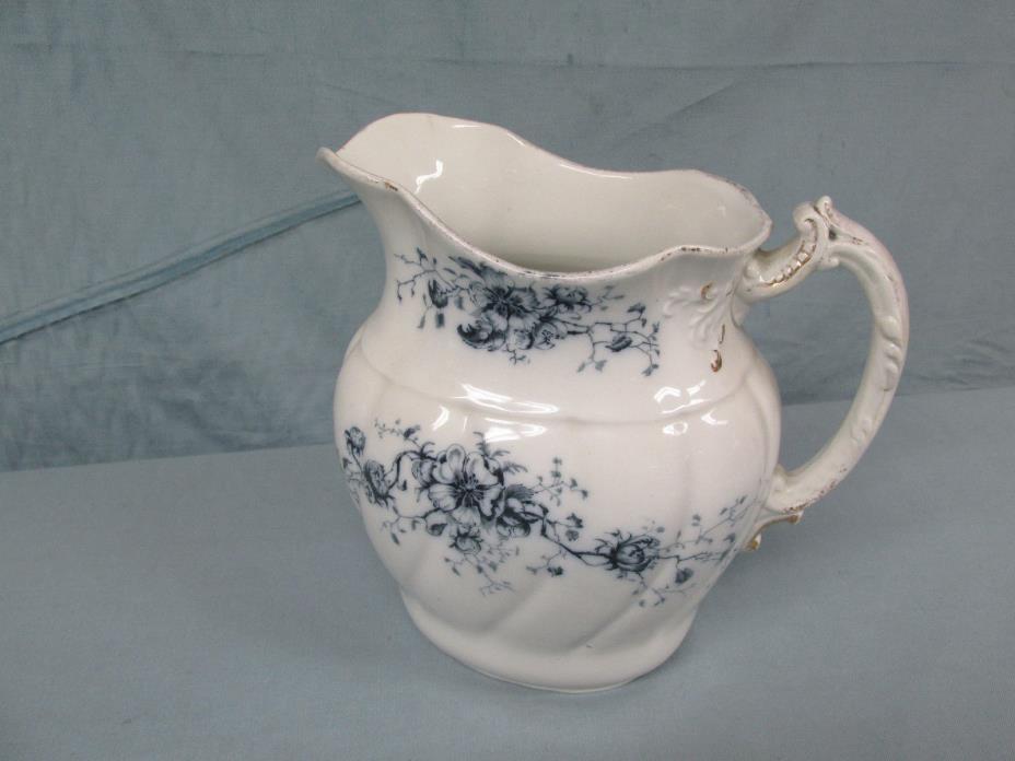 Antique Blue White W.H. Grindley & Co England 9.5