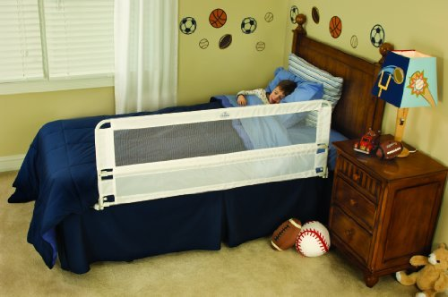 Toddler Bed Rail Extra Long Hide Away Swing Down Sturdy Child Safety Kids Guard