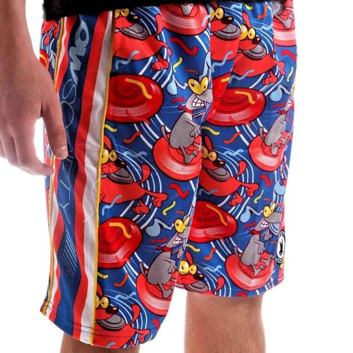 FLOW SOCIETY FRISBEE DOG ATTACK LACROSSE SHORTS YOUTH