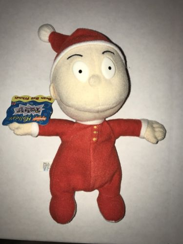 Nickelodeon Rugrats Holiday Tommy Bean Bag Friends 1997