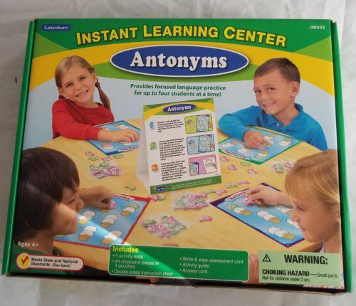 Lakeshore Instant Learning Center- Antomyms DD232
