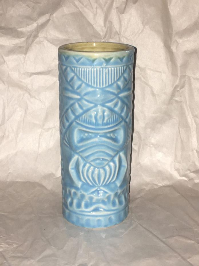 Light Blue Turquoise Tiki Mug