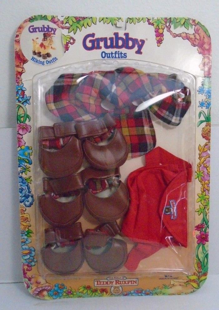 Grubby Outfits 1987 Hiking Outfit The World of Teddy Ruxpin