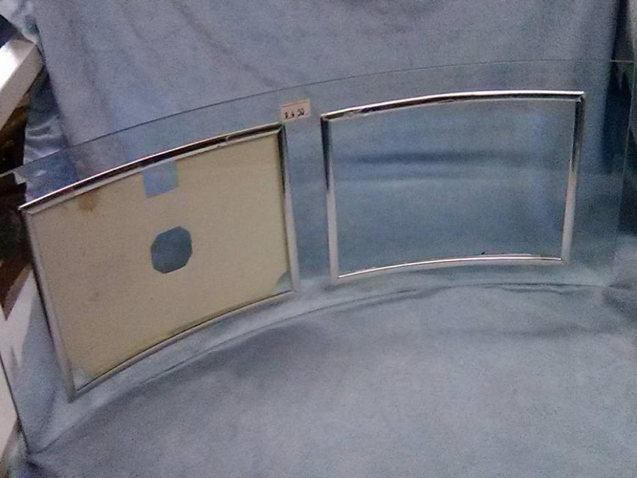 HOME DECOR GLASS CURVED PICTURE FRAME