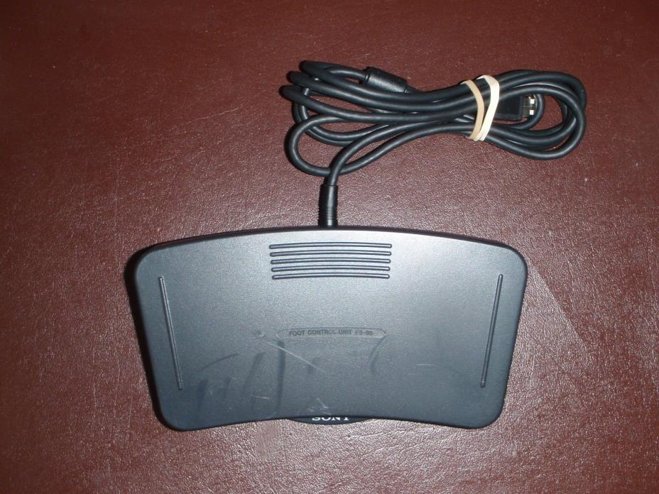 Sony FS85USB foot pedal for use with Digital Voice Editor software
