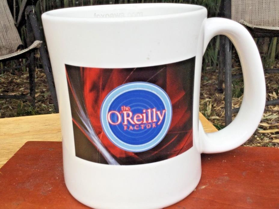 Official O'Reilly Factor 18 oz. Mug FoxNews.com USA Liscenced Never Used