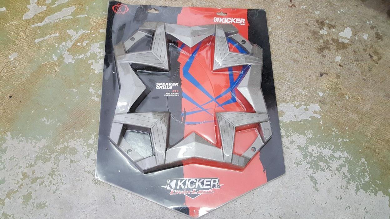 KICKER SPEAKER GRILLE G15 FOR KICKER SUBWOOFERS