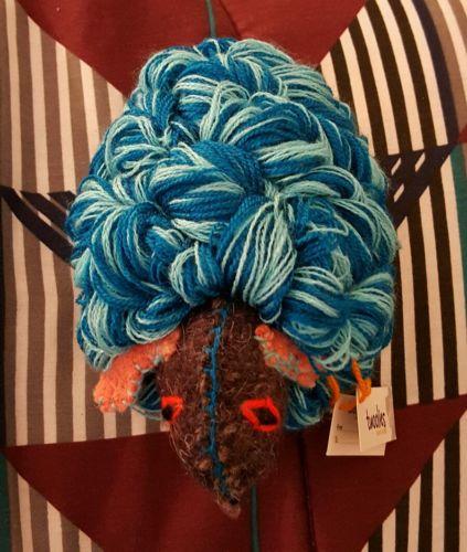 Twoolies Blue Sheep Handmade Mayan Natural Wool