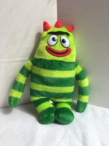 Yo Gabba Gabba Talking Singing Brobee Plush Doll Toy Works!