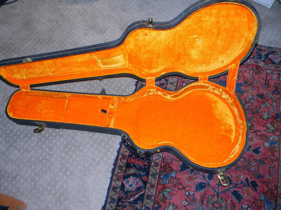 1960's HARDSHELL CASE FOR GIBSON EB-2 ELECTRIC BASS ESS & ESS