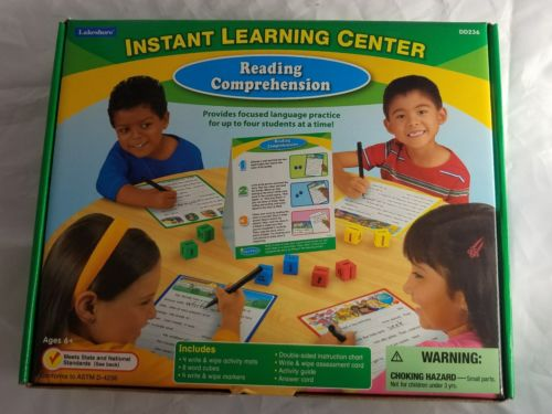 Lakeshore Instant Learning Center- Reading Comprehension DD236