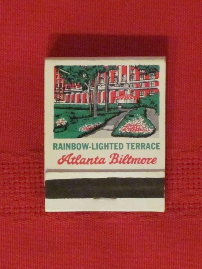 *** Atlanta Biltmore Hotel matchbook - Atlanta /
