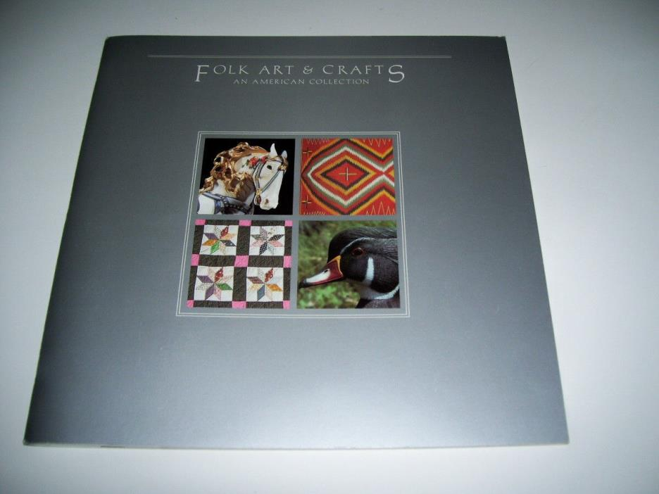 Folk Arts and Crafts Stamp Album - Stamps included.