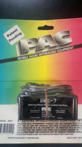 PAC SWI-7 Steering wheel radio interface infrared radios