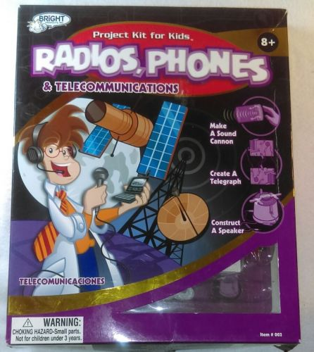 Radios, Phones And Telecommunications Project Kit For Kids 10 Fun Easy Projects