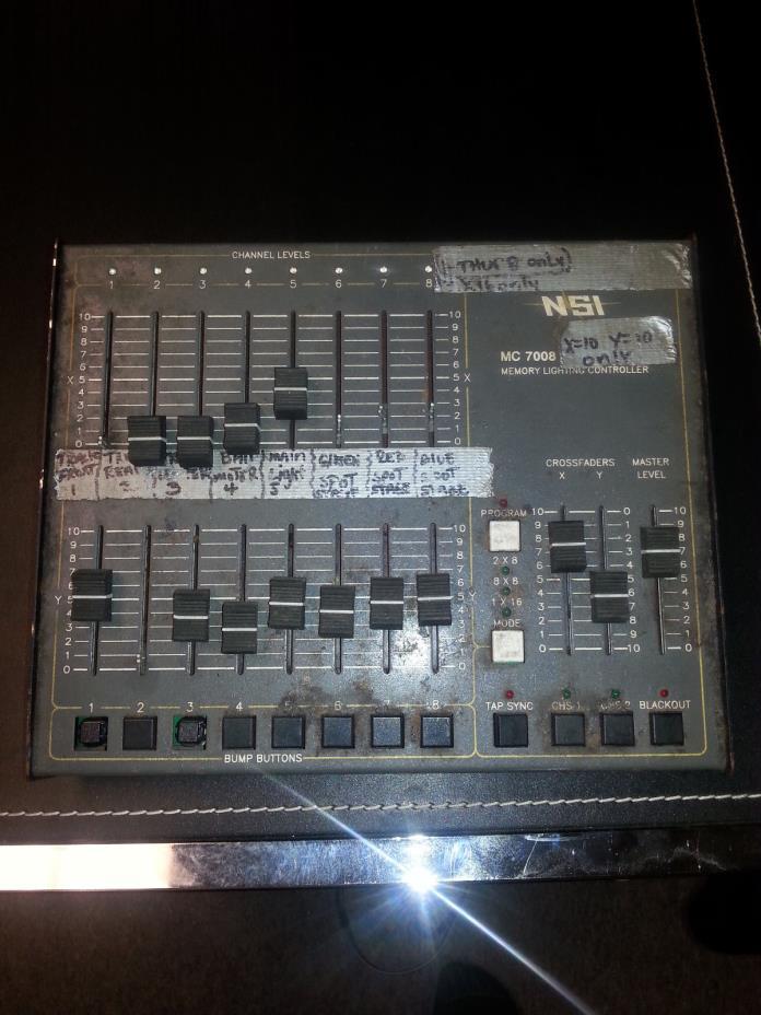 NSI mc 7008 light controller