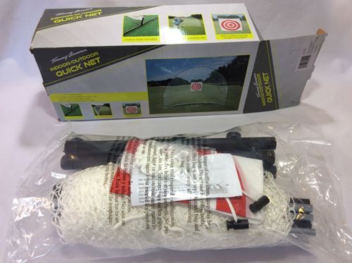 Golf Hitting Net Indoor Outdoor 7 x 9 Sports Quick Net Target Tommy Armour New