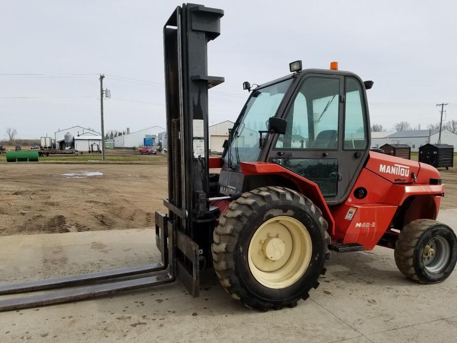 Rough Terrain Forklift 6400 lbs. - Manitou