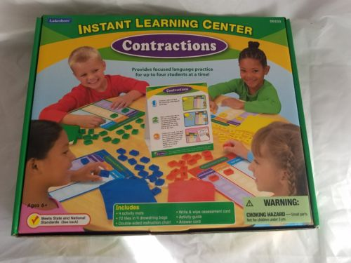 Lakeshore Instant Learning Center- Contractions DD233