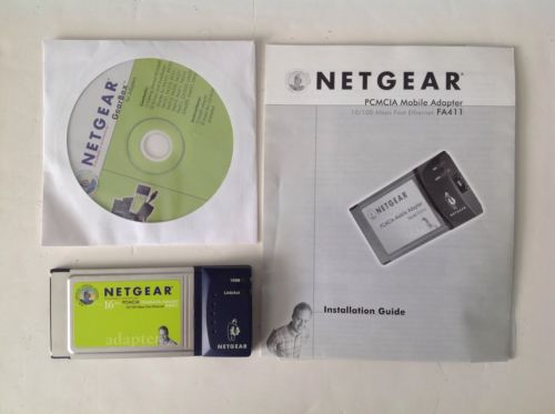 Netgear PCMCIA Mobile Adapter FA411