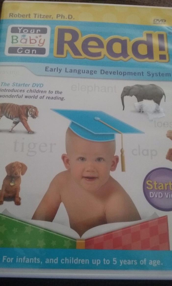 your baby can read early language development system. Starter DVD for infants