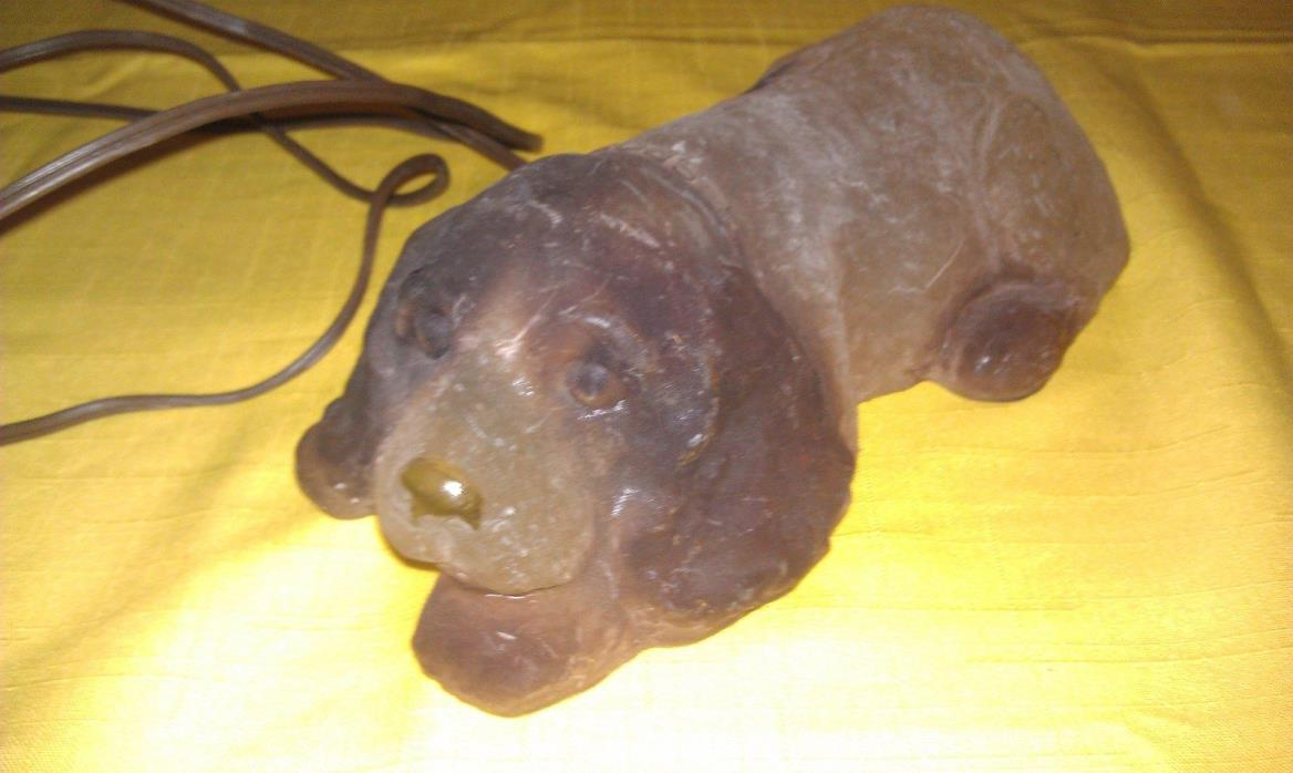 Vintage Night Light Dog Light, Spaniel?, Spot
