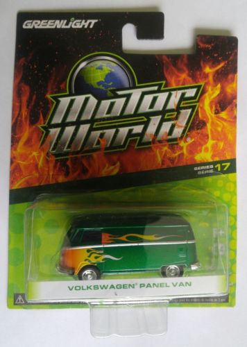GREENLIGHT Motor World  Green Machine * VOLKSWAGEN PANEL VAN *  series 17 !