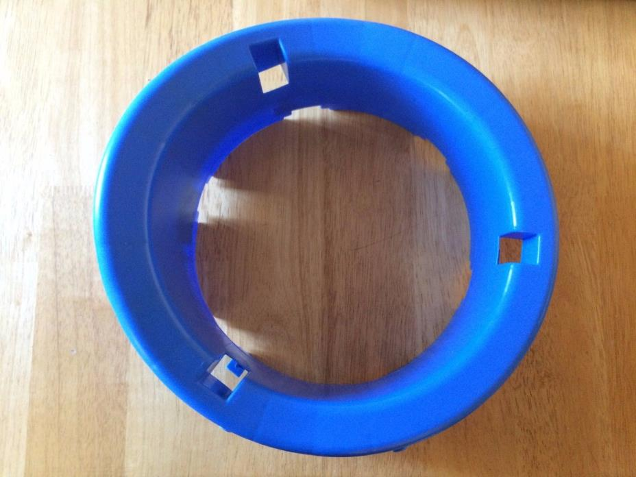 Evenflo Exersaucer Replacement Part – Blue Seat Frame Ring with Wheels