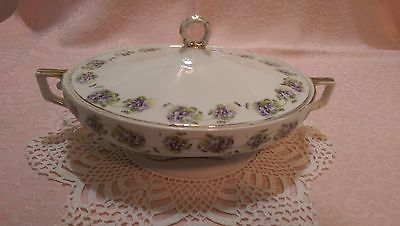 Vintage W H Grindley The Victory Covered Casserole/Vegetable dish