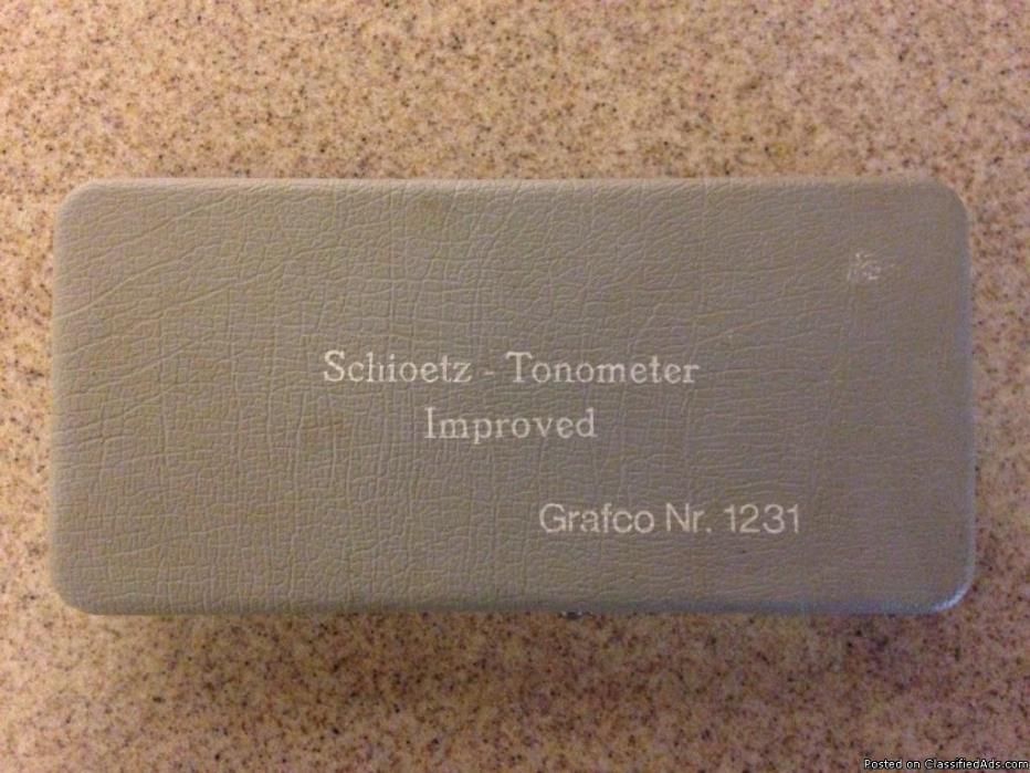 Schioetz-Tonometer