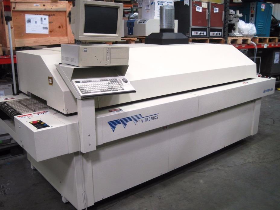 S120958 Vitronics Unitherm 410A Reflow Oven w/ PC 208v 3 Phase