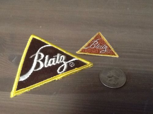 Vintage Lot Of 2 Blatz Beer Patches