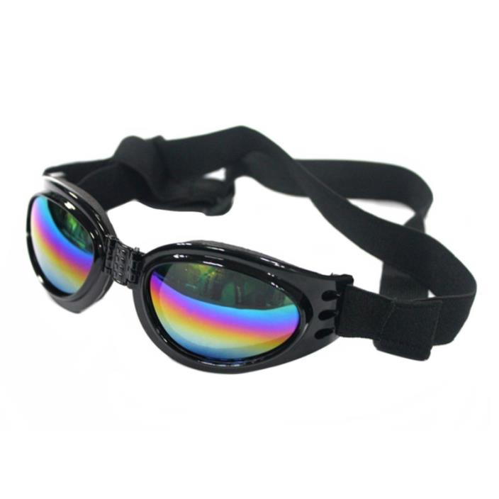 QUMY Dog Goggles Eye Wear Protection Waterproof Pet Sunglasses for Dogs about ov