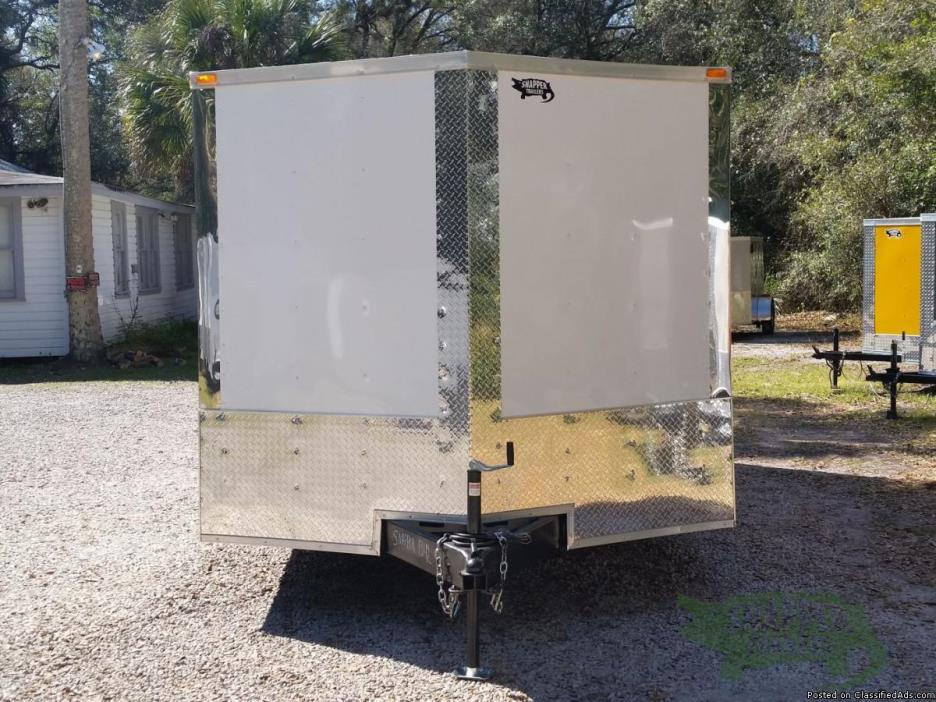 Snapper Trailers : 8.5x16 Tandem Axle Riding Mower Trailer w/ Ramp