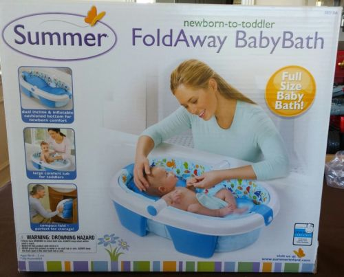 Summer Infant Fold Away Baby Bath Inflatable Tub