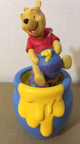 Disney Winnie The Pooh Bobble Dobblies head with Hunny pot