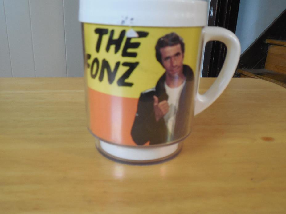 Happy Days The Fonz Coffee Mug Dawn Brand 1976 Retro Henry Winkler SHIPS FREE