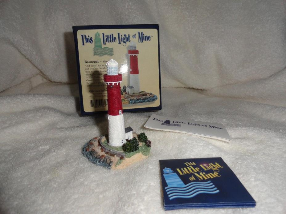 Collectibles-Harbour Lights-This Little Light of Mine-BARNEGAT,NEW JERSEY