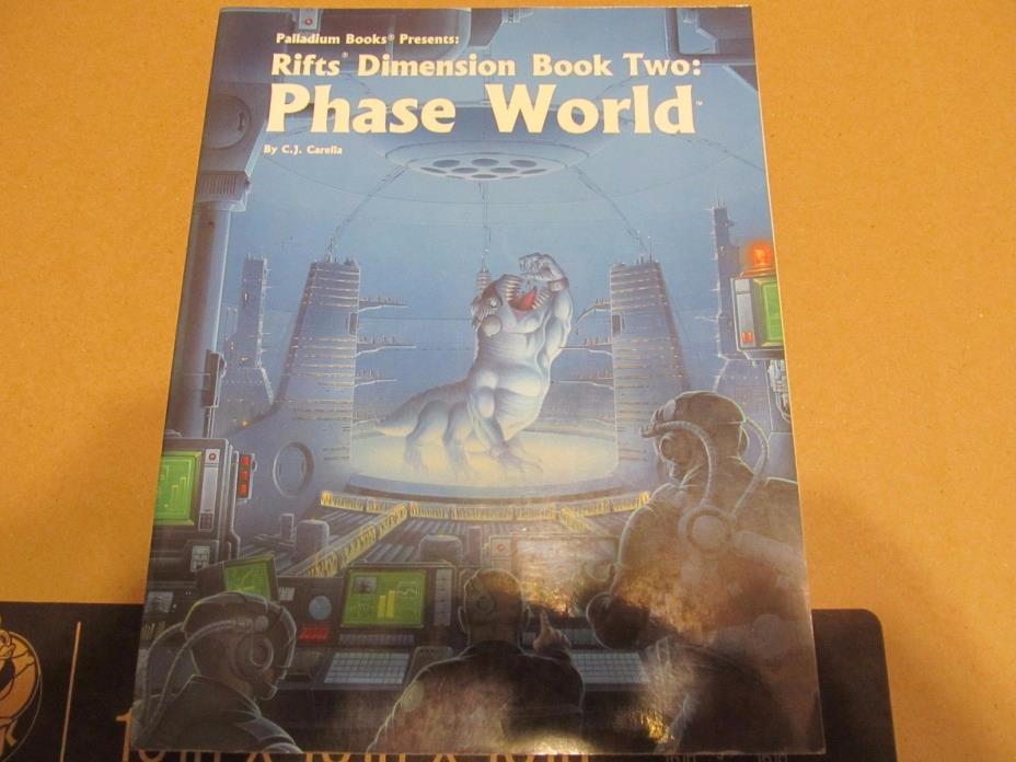 Rifts: Dimension Book 2: Phase World  (Palladium Books)