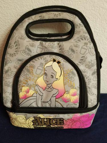Disney Alice in wonderland lunch box pale