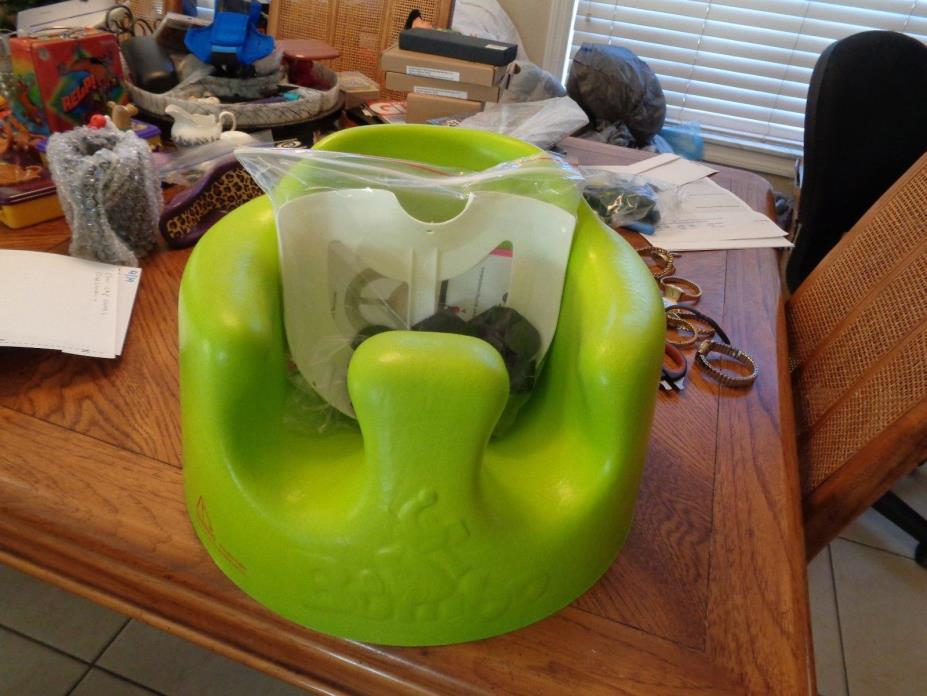 Bumbo Floor Seat Lime Green Great Used Condition Smoke Free Home