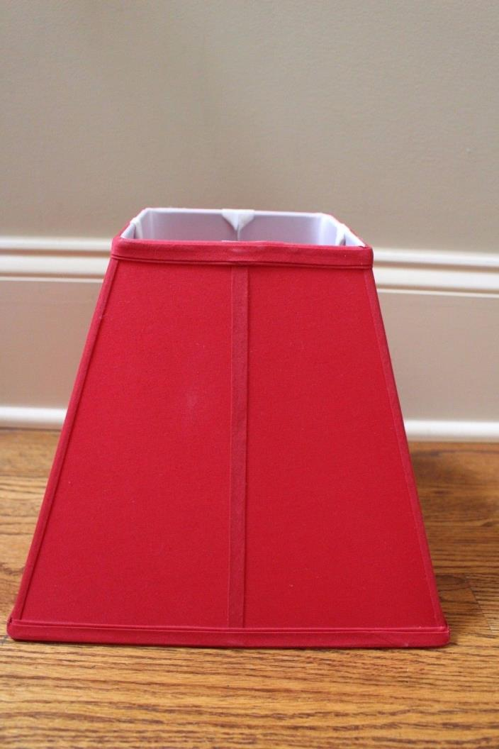 Pottery Barn Kids Parker red lamp shade *blemishes*