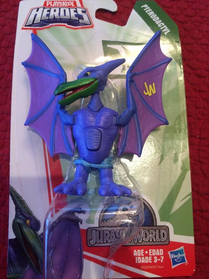 NEW Playskool Heroes Jurassic World Action Figures Pterodagtyl Dinosaur Toy