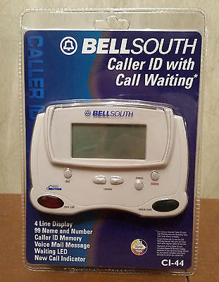 Bellsouth Caller ID with Call Waiting CI-44 Brand New Sealed NIB