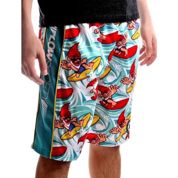 FLOW SOCIETY GNOME SURF ATTACK LACROSSE SHORTS YOUTH