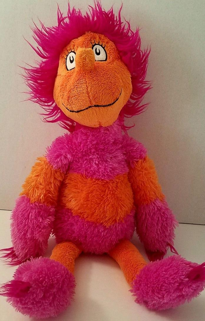 Kohls Cares Plush Dr Seuss Grinch Wocket Pink Orange Stuffed Animal 17