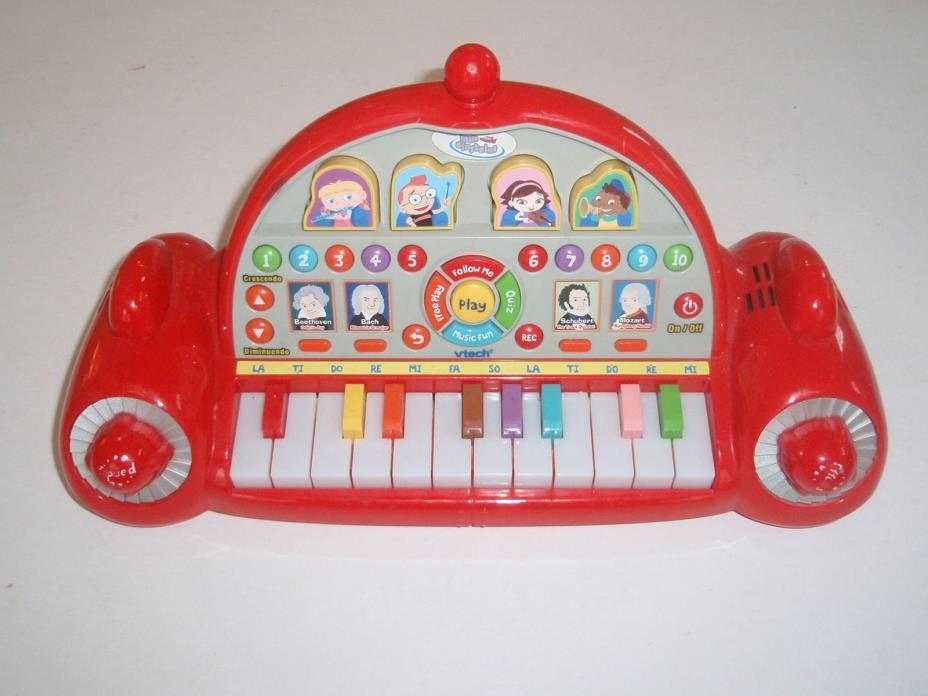 Vtech Little Einsteins Pat Pat Rocket Play & Learn Piano Lights Musical Keyboard
