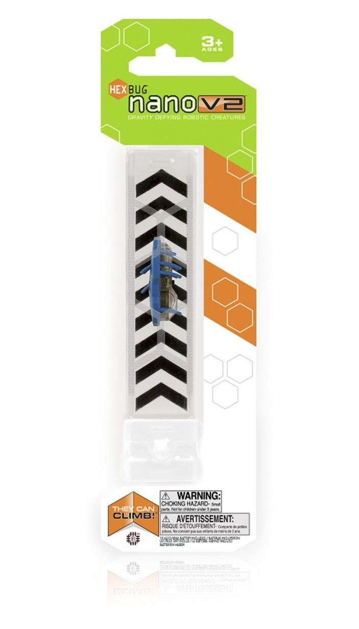 HEXBUG Nano V2 Single Pack colors = blue / black